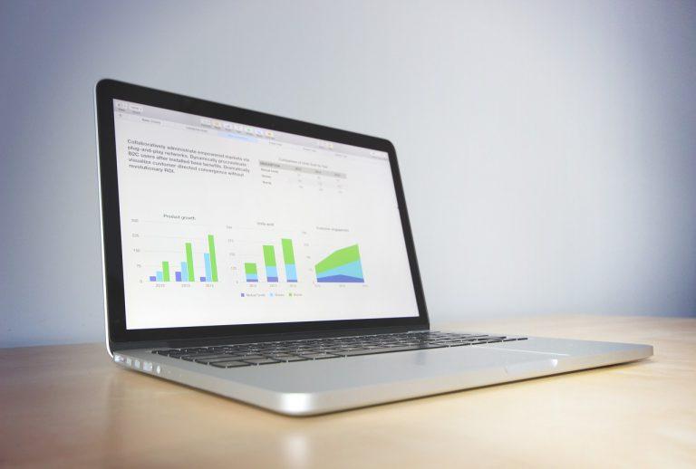 macbook, laptop, business